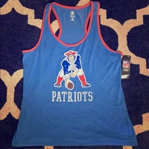 Patriots women's tank XL